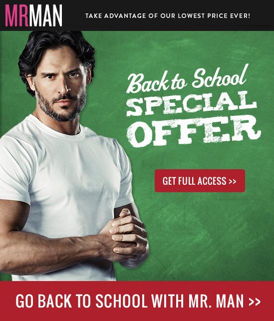 Mr. Man Back to School