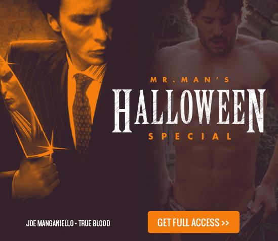 Mr. Man Halloween Special - Christian Bale, True Blood, Joe Manganiello