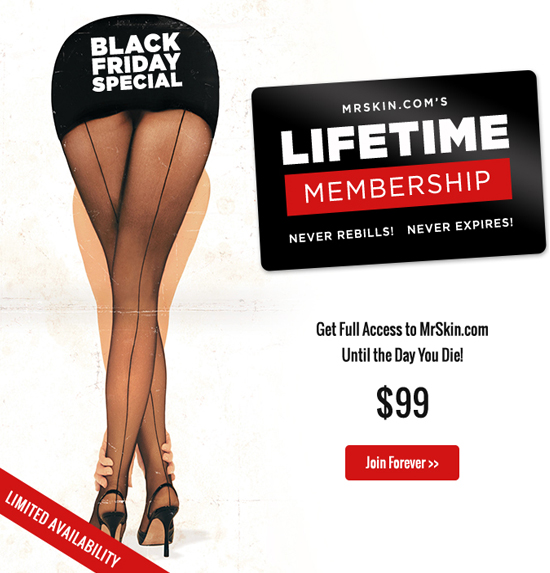 Black Friday Lifetime Membership Special