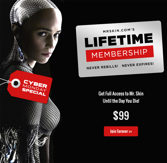 Cyber Monday Lifetime Membership Special