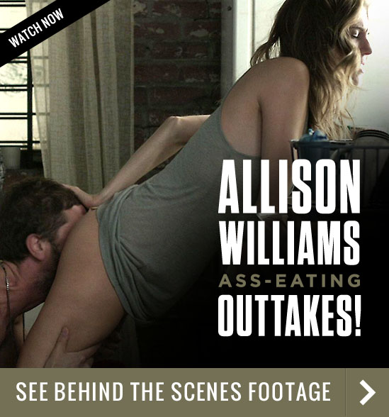 Allison Williams Ass-Eating Outakes