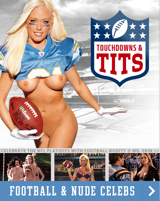 NFL Playoff Special! Touchdowns And Tits!