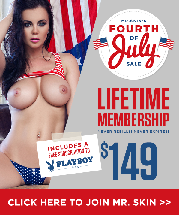 Mr Skin 4th of July 9 Lifetime offer with Free month of PlayboyPlus