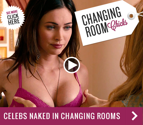 Sexy Celebs in Changing Rooms