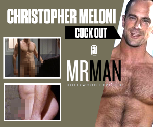 Mr. Man - Christopher Meloni cock out @ Mr. Man!