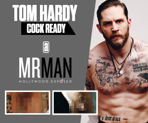 Tom Hardy cock ready @ Mr. Man