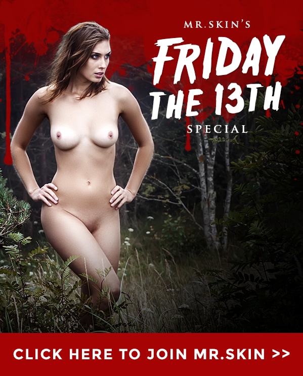 Fright And Delight, Nude Celebs On Friday The 13th